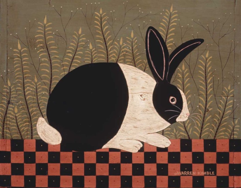 Checkerboard Bunny