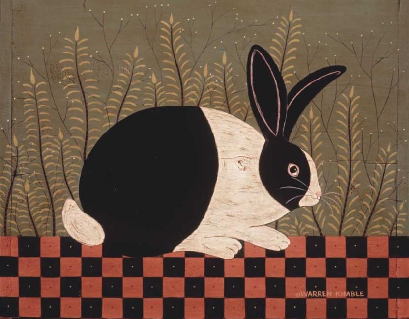 Checkerboard Bunny