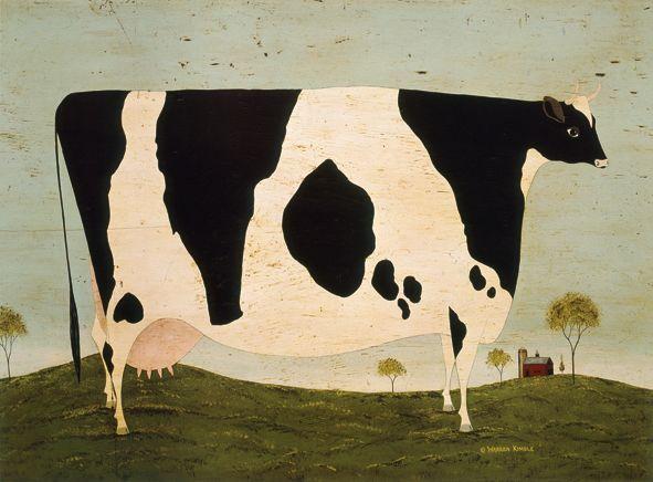 Vermont Cow